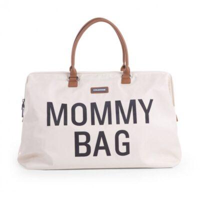 Mommy suur tarvikute kott, valge