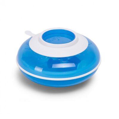 Childhome sooja hoidev taldrik+ kahvel & lusikas-sinine ja valge