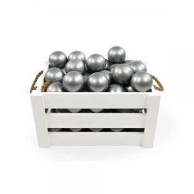 MEOW baby Lisapallid Pallimerele- Hõbedane (50 tk)