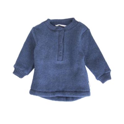 Mikk-line villafliisist baby pullover, melange tahiti