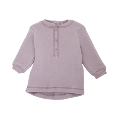 Mikk-line villafliisist baby pullover, vanaroosa
