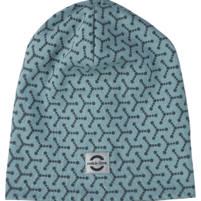 Puuvillane müts, aqua