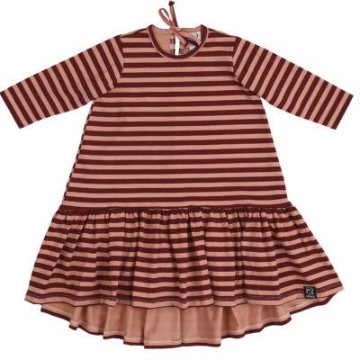 KUKUKID Dancing kleit, Pink Stripes