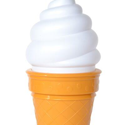 Lamp jäätis, valge