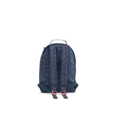 MISS RILLA seljakott, tumesinine-täpiline