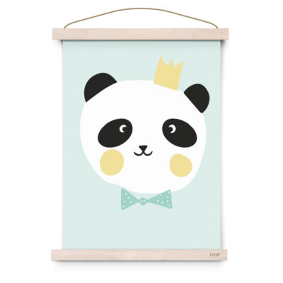 EEF Lillemor Poster Lovely Animals - King Panda 29.7x42