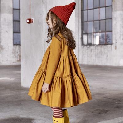 KUKUKID puhv kleit, Mustard