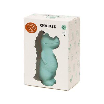 Petit Monkey 100% looduslikust kummist mänguasi Krokodill Charlie