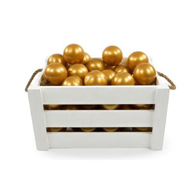 MEOW baby Lisapallid Pallimerele- Kuldne (50 tk)