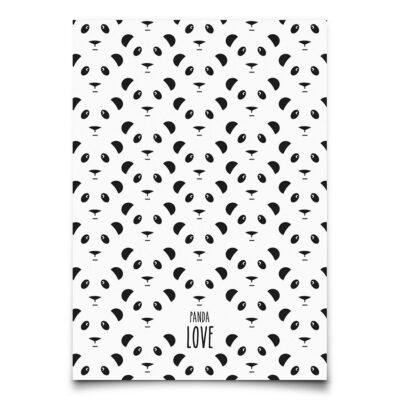 EEF Lillemor Postkaart Panda Love