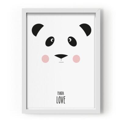 EEF Lillemor Poster Panda Love 29.7x42