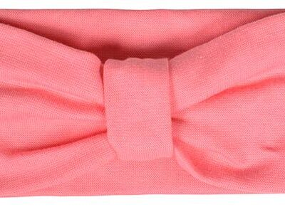 Mikk-line puuvillane peapael- roosa