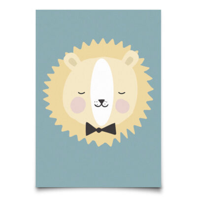 EEF Lillemor Postkaart Lovely Animals – Friendly Lion