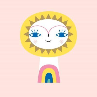 Postkaart Hr Päike