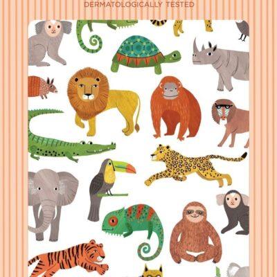 Petit Monkey tätoveeringud džungli loomad