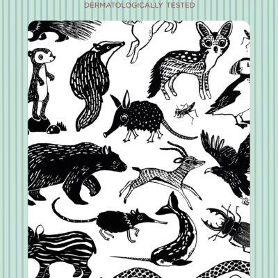 Petit Monkey tätoveeringud mustad loomad