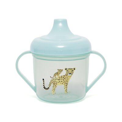 Joogikruus leopard, aqua