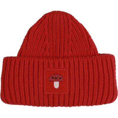 KUKUKID villane müts, punane