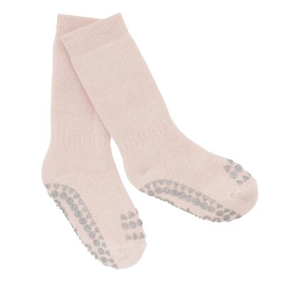 GOBABYGO stopperitega sokid - Soft Pink Glitter
