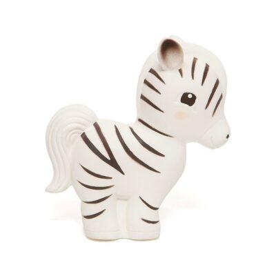 Petit Monkey 100% looduslikust kummist mänguasi Sebra Zippy