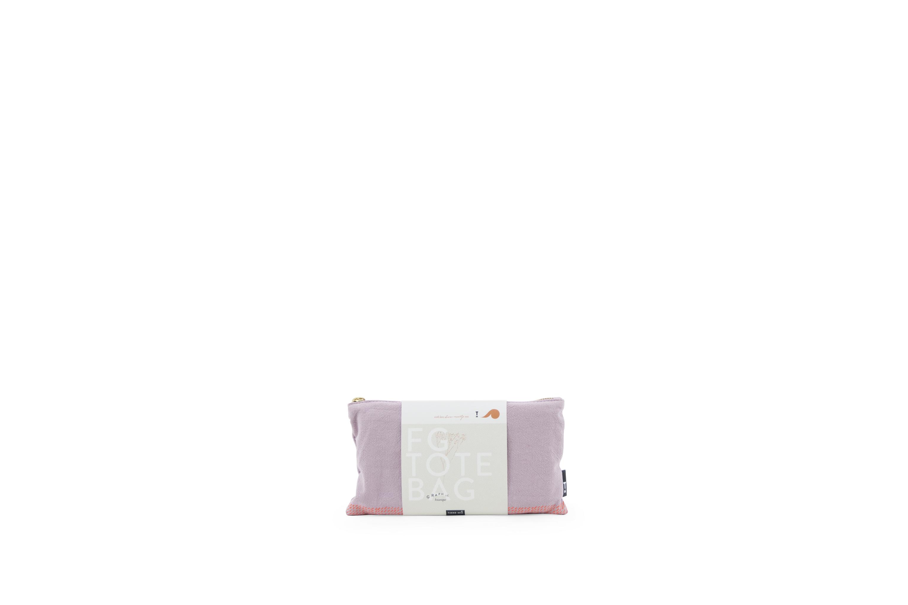 Tinne +Mia linane Tote bag. Orhidee