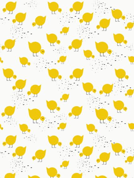 LAVMI fliistapeet Juli, kollane